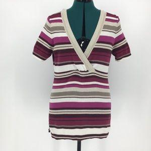 Eddie Bauer Short Sleeve Hooded Sweater, Medium